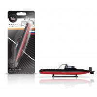 """Ароматизатор на панель AIRLINE пластик """"Подводная лодка"""" черный лед AFPL013"""