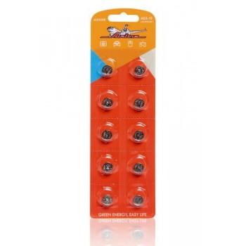 Батарейка AIRLINE AG3/L41 щелочная 10шт. AG3-10