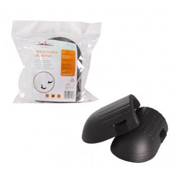 Наколенники защитные, материал EVA, черные AKP-01