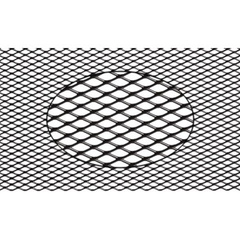Сетка для защиты радиатора,  15 мм (R10), 100*25 см, черная (1 шт.) APM-A-02