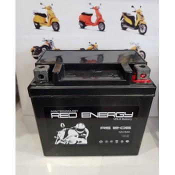 Аккумуляторная батарея RED ENERGY 12V 5 а/ч 1205 полярность обратная