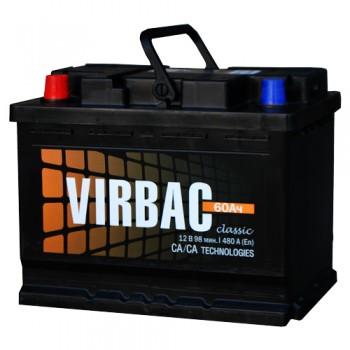 Аккумулятор VIRBAC Classic 6ст-60