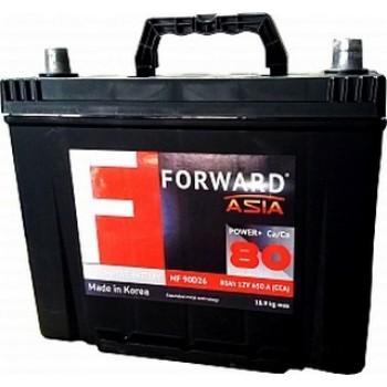 Аккумулятор Forward 80  90D26L asia
