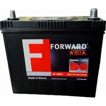 Аккумулятор Forward 50 Asia 60B24L