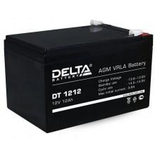 Батарея аккумуляторная Delta DT 1212 (12V/12Ah)