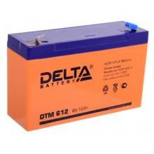 Аккумуляторная батарея Delta DTM 612 6В, 12Ач