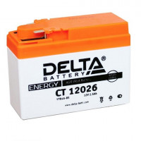 Аккумуляторная батарея Delta CT 12026 YTR4A-BS 12В, 2.5Ач