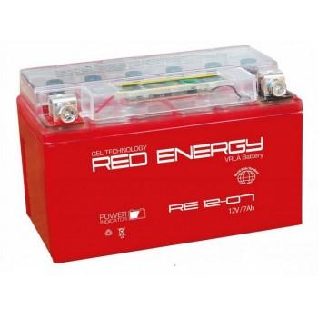 Аккумуляторная батарея Delta RED ENERGY RE 12-07  12В, 7Ач Полярность прямая (+ -)