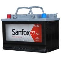 Аккумулятор SanFox 6СТ-77 R+ о. п. 600А