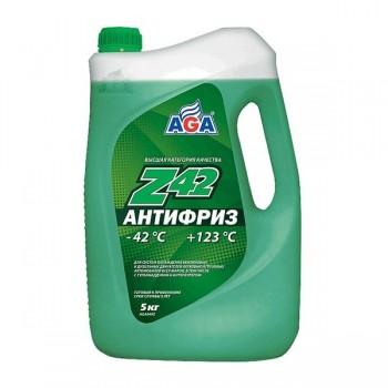 Антифриз AGA 049 Z -42C green/зеленый 5л. AGA049Z