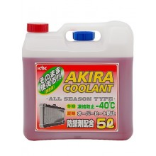 Антифриз AKIRA COOLANT red/красный -40С 5л. 55-005