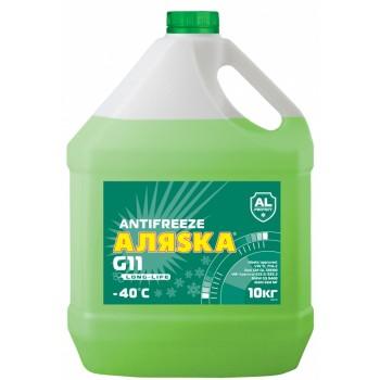 Антифриз АЛЯСКА Green/Зеленый -40С 10 кг. AL5523/02