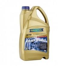 Трансмиссионное масло RAVENOL ATF 6 HP Fluid 4 л. 4014835732797
