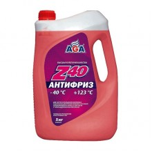 Антифриз AGA 002 Z -40C красный 5 л. AGA002Z