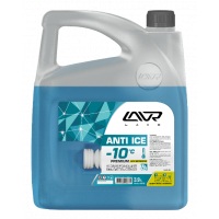 Незамерзающая жидкость LAVR (очиститель стекол) -10°C, 3,9 л Ln1312