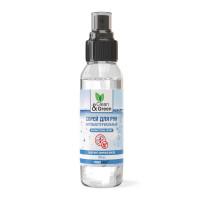 Спрей для рук антибактериальный (100 мл) Clean&Green CG8001