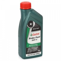 Тормозная жидкость CASTROL BRAKE FLUID DOT 4 1л. 157D5A