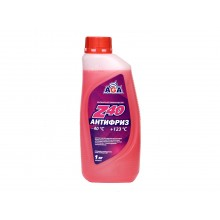 Антифриз AGA 001 Z -40C красный 1 л. AGA001Z
