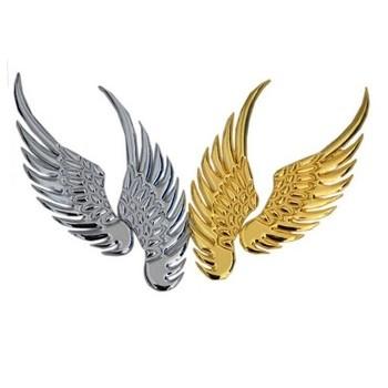 """Металлический шильдик """"Орлиные крылья"""""""