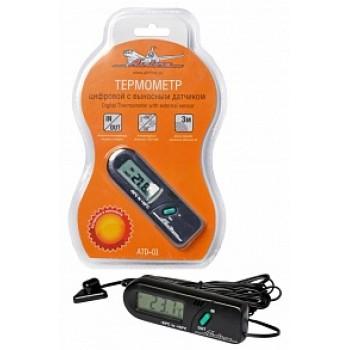 Термометр цифровой с выносным датчиком ATD-01