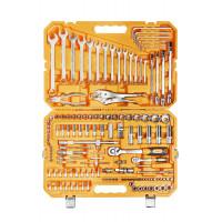 Набор инструментов универсальный 137 предметов , пласт.кейс AT-137-10