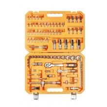 Набор инструментов универсальный 94 предмета, пласт.кейс AT-94-05
