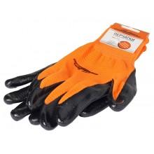 Перчатки с нитриловым покрытием AWG-L-03