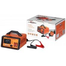 Зарядное устройство 0-10А 6В/12В, амперметр, ручная регулировка зарядного тока, импульсное ACH-10A-07
