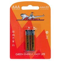 Батарейки LR03/AAA щелочные 2 шт AAA-02
