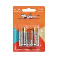 Батарейки LR14/С щелочные 2 шт C-02