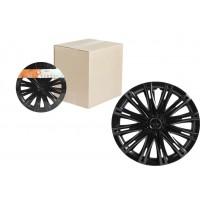 Колпаки колесные 14 дюймов Скай, черный глянец 2шт AWCC-14-13