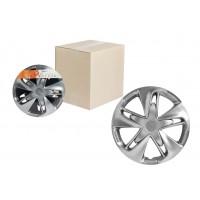 Колпаки колесные 16 дюймов Супер Астра, серебристый, карбон 2шт AWCC-16-01