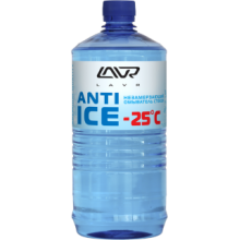 Незамерзающий омыватель стекол (-25) LAVR Anti Ice, 1л Ln1310