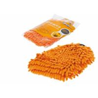 Варежка-шиншилла с оранжевым ворсом 25x20см AB-D-02