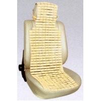 Накидка на сиденье бамбук FC-051 плоские прямоугольники