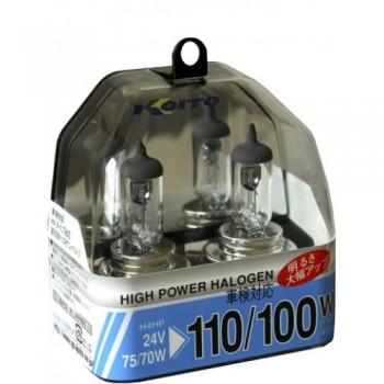 Лампа высокотемпературная Koito H4 24V 75/70W (110/100W)   Whitebeam P0591  2шт.