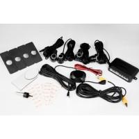 Парковочный радар 4 датчика + камера для штатной установке