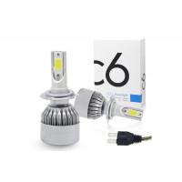 Светодиодные лампы C6 LED Headlight