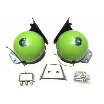 Звуковой сигнал Big Horn зеленый (JS-S09 12V)