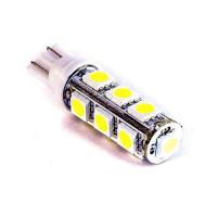 Габариты светодиодная лампа T10 W5W 13SMD 5050, шт