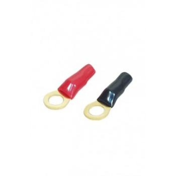 """Клемма силовая """"кольцо"""" (кабель 8GA(8мм2). Диаметр 7,8мм."""