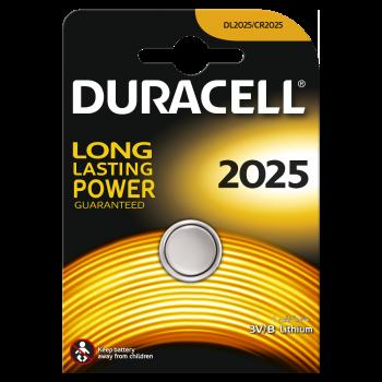 Батарейки DURACELL 2025 1 шт. 81575096