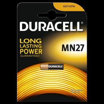 Батарейки DURACELL MN27 алкалиновые 12V 1 шт. 81488674