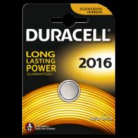 Батарейки DURACELL 2016 литиевые 3V 1 шт. 81575093