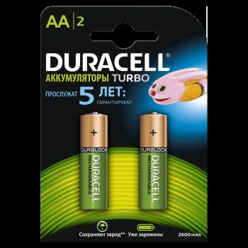 Батарейки DURACELL AA 2 шт. 81545393