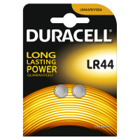 Батарейки DURACELL LR44 алкалиновые 1.5V 2 шт. 81488664