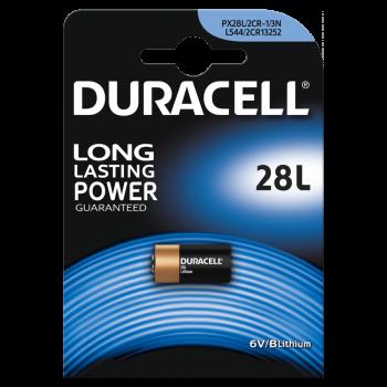 Батарейки DURACELL 28L литиевые 6V 1 шт. 81476820