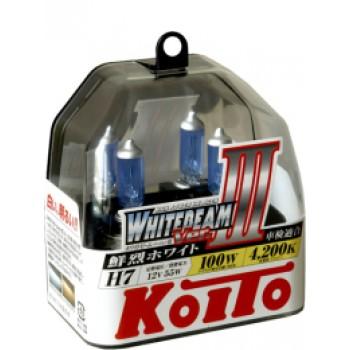 Лампа галогенная Koito H7 Whitebeam 12V 55W  4200K (100W) Япония  P0755W
