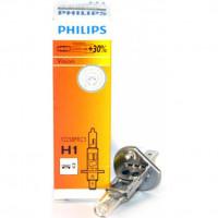 Лампа PHILIPS H1 12V 6055W  30 % Premium 12258PRC1