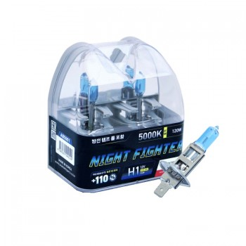 Лампа галогенная AVANTECH Night Fighter H1 12V 55W 5000K 2 шт. AB5001